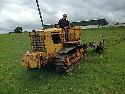 track marshall 56 crawler with 3pt linkage and weights, tractor boat launcher