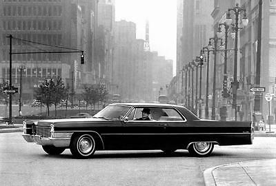 Cadillac Coupe Deville Car 1965 Auto Press Ad Auto Image Vintage Photo 1050