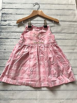 Baby Girls Clothes 6-9  Months - Cute Pink Summer Dress -