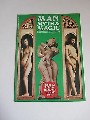MAN, MYTH & MAGIC # 6 Religions East & West, Purnell 1970s Magazine