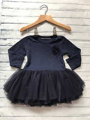 Baby Girls Clothes Dresses 6-9  Months - Cute Blue Tutu Dress -