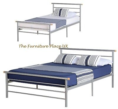 ORION SILVER BED FRAME IN 3ft SINGLE, 4ft SMALL DOUBLE or 4ft 6 DOUBLE SIZE