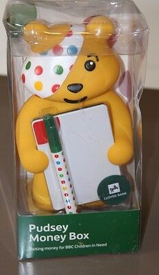 Pudsey Children in Need Lloyds Bank Money Bank Collectable