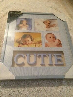 Baby Boy Collage Photo Frame Brand New in plastic