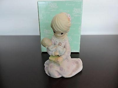 Precious Moment Figurine - A Mother's Love Is From Above - 104311-Suspended
