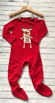 Baby Girls Clothes 9-12 Months- Cute Christmas BabyGrow Sleepsuit
