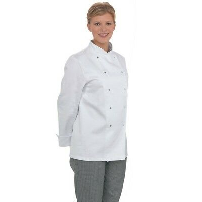 Chef Coat Jackets Long Sleeve Chefs Clothing Chefwear Workwear