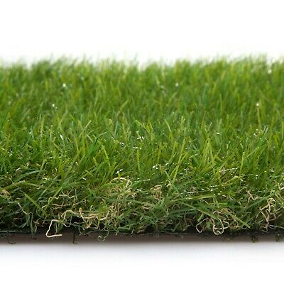 Artificial Grass 40mm Thick Realistic Astro Natural Plastic Lawn Turf