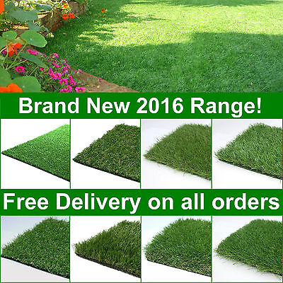 Astro Artificial Grass Quality Turf Cheap Green Lawn Garden Realistic Natural