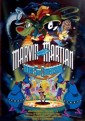 MARVIN THE MARTIAN In The 3rd DIMENSION Signed 95 Color Print