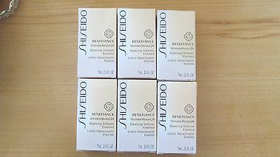 SHISEIDO BENEFIANCE WRINKLE RESIST24 BALANCING SOFTENER ENRICHED PROBE 42 ml NEU