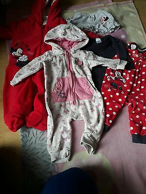 Baby girl clothes bundle Minnie mouse