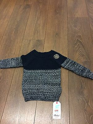 Bnwt Boys 12 To 18 Months Cotton Jumper