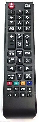 UNIVERSAL REMOTE CONTROL FOR Samsung NEW SMART 3D LED TV - DIRECT REPLACEMENT
