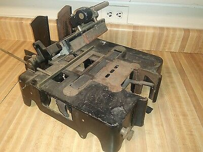 Antique Addressograph Model H3 Industrial Machine Ships Free