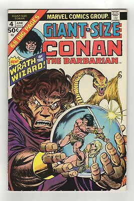Marvel - Giant Size Conan the Barbarian - No 4 - 1975 - VF+ - BARRY SMITH ART!!!