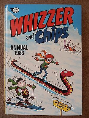 Whizzer and Chips Annual 1983 Mint Condition