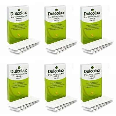 Dulcolax Bisacodyl Laxative 60 Constipation Relief tablets 5mg Pack of 2