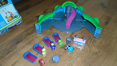 teletubbies home hill playset with tinkywinky dipsy laa