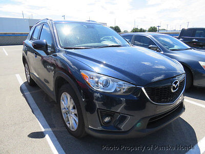 2015 Mazda CX-5 AWD 4dr Automatic Grand Touring AWD 4dr Automatic Grand Touring SUV Automatic Gasoline 4 Cyl DEEP CRYSTAL BLUE M