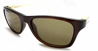 78f4b01561cd LACOSTE Sunglasses L503S 208 White Brown 53x18x135 Brown Lens ITALY