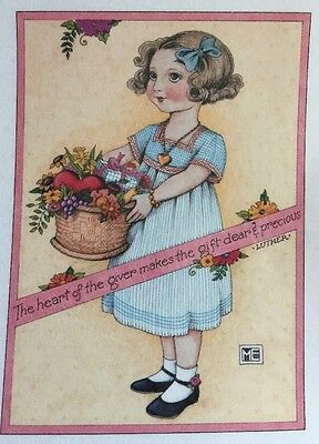 Handmade Fridge Magnet-Mary Engelbreit Artwork-The Heart Of The Giver