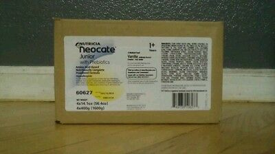 One Case (4 Cans) of Vanilla Neocate Jr. with Prebiotics