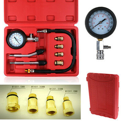 Petrol Engine Compression Test Diagnostic Tester Kit Set For Automotive Car Tool