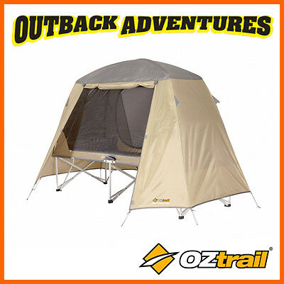Oztrail Ultimate All Weather Stretcher Single - Camp Camping Bed Bedding New
