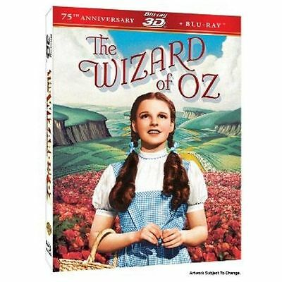 The Wizard of Oz: 75th Anniversary Edition (Blu-ray 3D / Blu-ray), Brand New