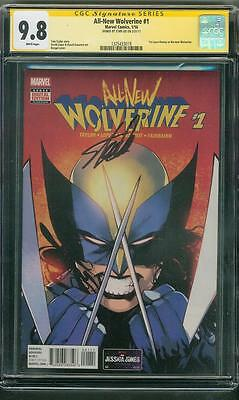 All New Wolverine 1 Bengal Cover CGC 9.8 SS Stan Lee Signed X-23 Men
