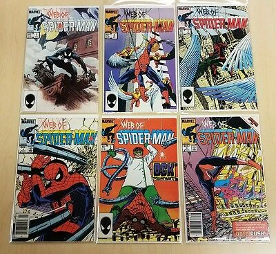 Web of Spider-Man #1-6 (1985) - key issue 1st app Vulturions