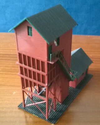 ATLAS COALING TOWER  HO   ASSEMBLED with LIGHTING  Father's Day!