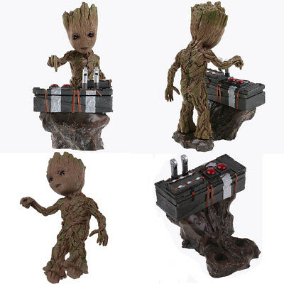 """Anime Guardians of the Galaxy Groot 7"""" Baby PVC Figurine Toy Figure Top Quality"""
