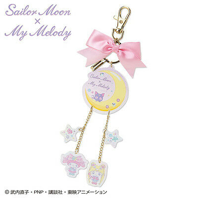 Sailor Moon x My Melody Key Holder Key Chain Sanrio Kawaii Cute F/S NEW