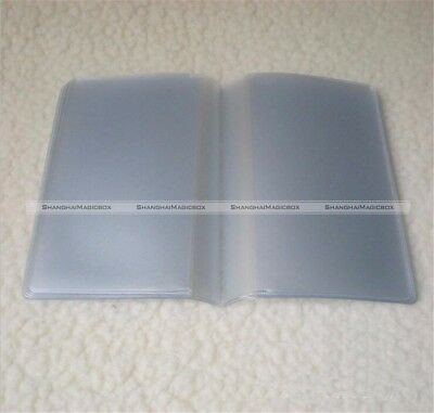 Wallet Insert Card Holder 10 pages(10 slots) 20 Pages(20 slots) Replacement S8