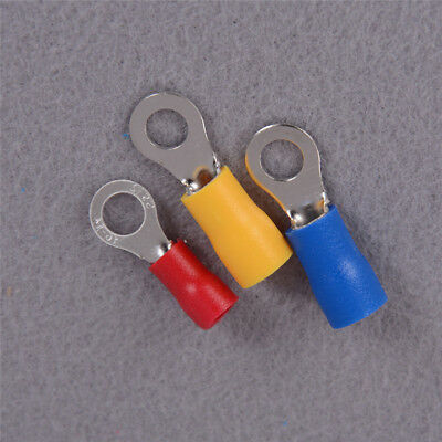 100x  Power Insulated Wire Ring Terminals Connectors Crimp copper Terminal