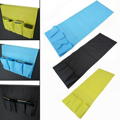 Organizer Couch Remote Control Caddy Arm Chair Holder Storage Bag With 4 Pocket