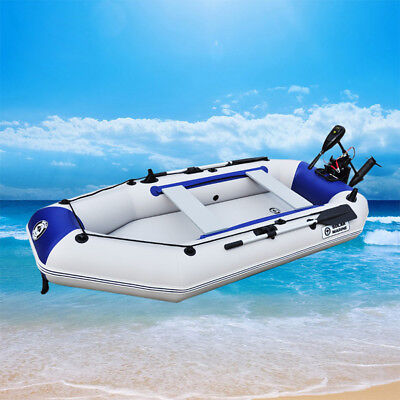 3-4 Person Summer Water Floating Kayak Inflatable Fishing Boat Canoe Paddle+oars