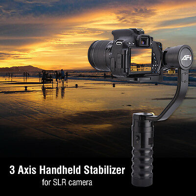 AFI VS-3SD Handheld 3-Axis Brushless Steady Gimbal Stabilizer for Canon 5D 6D 7D