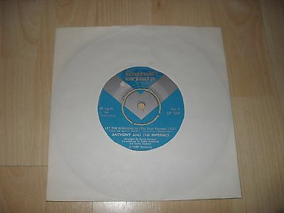 """Anthony And The Imperials - Let The Sunshine In (Uk 1968 7"""" Inch Single)"""