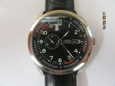 Oris 7529 XL Pointer Day Automatic Wrist Watch In Working Order