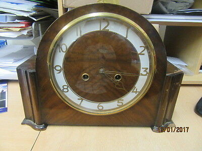 Mantel Clock In Working Order By Smiths