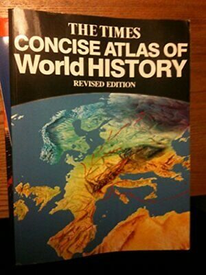 Times Concise Atlas of World History Hardback Book The Cheap Fast Free Post