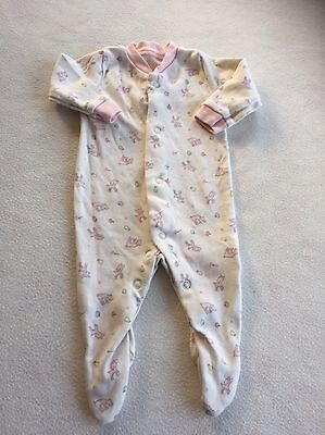 Girls Babygrows - Pretty Newborn Baby Grow Sleepsuit