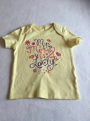 Baby Girls Clothes 3-6 Months - Pretty  T Shirt Top -New -