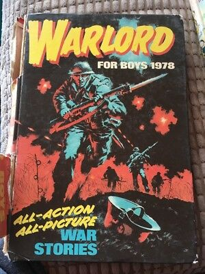 Warlord For Boys Annual 1978 (D C Thomson)