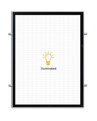 Magnetic Backlit Illuminated LED Poster Frame (Double-Side - 20 in x 24 in)