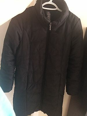 Oh Baby by Motherhood winter puffer jacket, small size, color black