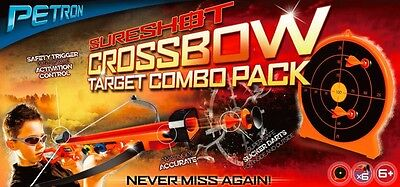 Sureshot Crossbow And Target Combo  By Petron